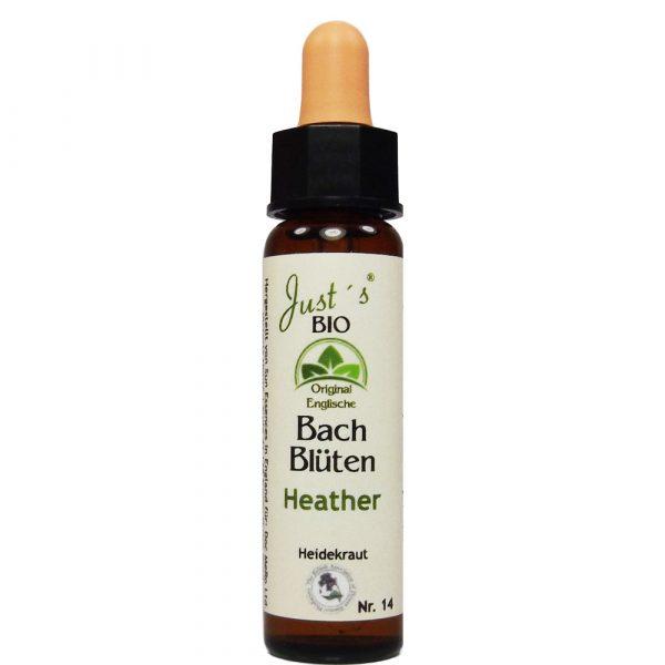 Just's Bio Bachblüten Heather