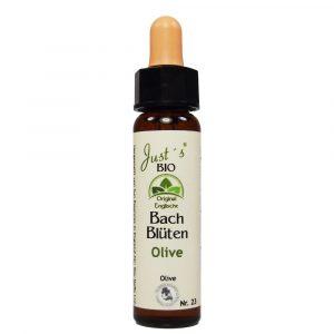 Olive original englische BIO Bachblüten Tropfen Nr. 23