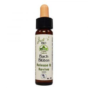 Release and Revive/ Notfalltropfen Bio Bachblüten Tropfen original englische Qualität