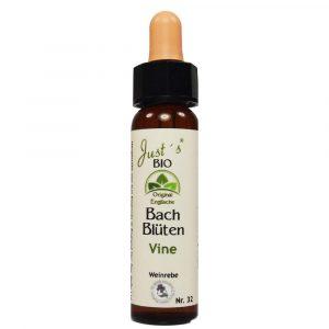 Vine/ Weinrebe Nr. 32 Bio Bachblüten Tropfen original englische Qualität